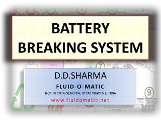 BATTERY  BREAKING sYSTEM