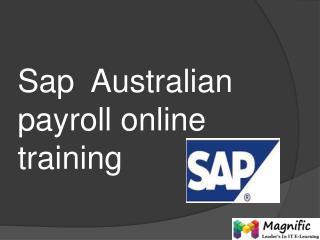 sap australian payroll online training in kerala