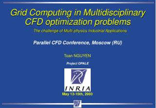 Grid Computing in Multidisciplinary CFD optimization problems