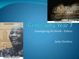 Geography Year 7