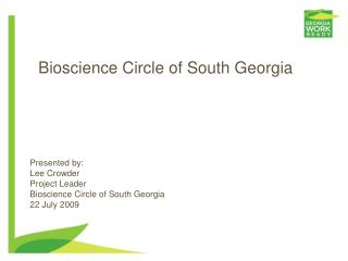 Bioscience Circle of South Georgia