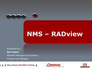 NMS – RADview