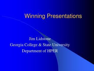 Winning Presentations