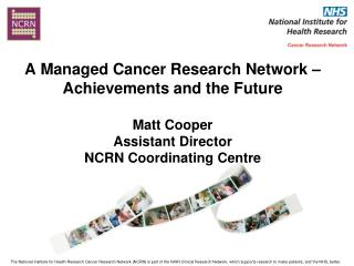 NCRN Local Research Networks