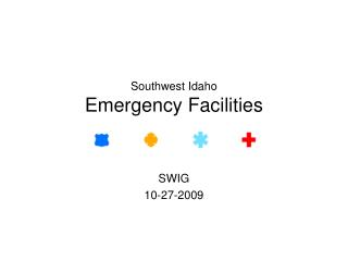 Southwest Idaho Emergency Facilities