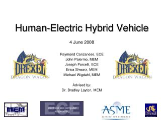 Human-Electric Hybrid Vehicle