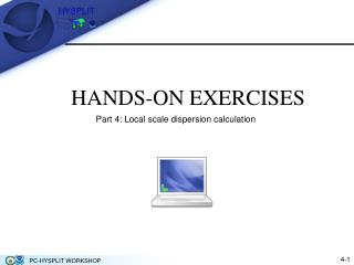 HANDS-ON EXERCISES