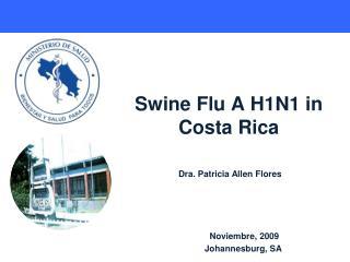 Swine Flu A H1N1 in Costa Rica