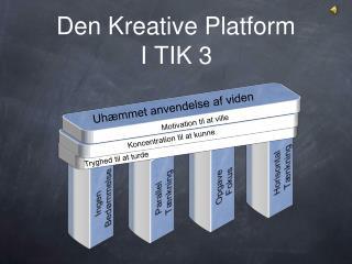 Den Kreative Platform I TIK 3