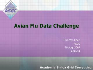 Avian Flu Data Challenge