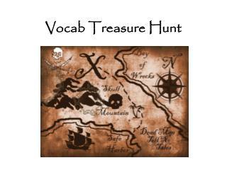 Vocab Treasure Hunt