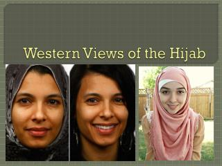 Western Views of the Hijab
