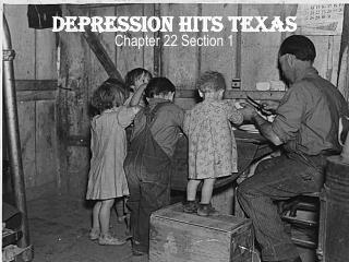Depression Hits Texas