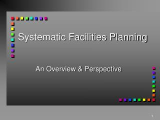 Systematic Facilities Planning