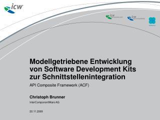 Modellgetriebene Entwicklung von Software Development Kits zur Schnittstellenintegration