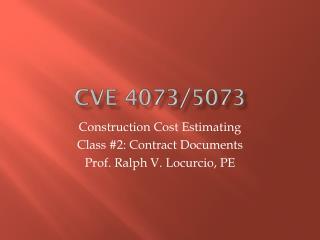 CVE 4073/5073