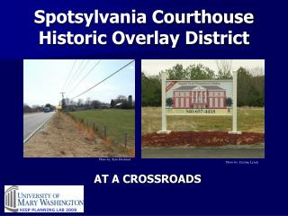 Spotsylvania Courthouse Historic Overlay District