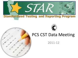 PCS CST Data Meeting