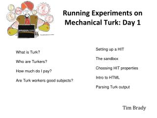 Running Experiments on Mechanical Turk: Day 1