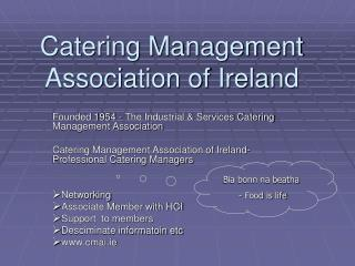 Catering Management Association of Ireland