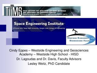 Cindy Eppes � Westside Engineering and Geosciences Academy � Westside High School - HISD