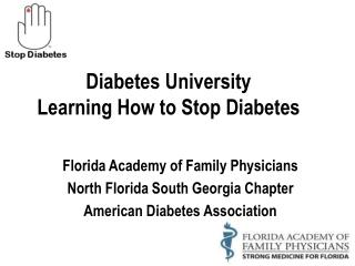 Diabetes University Learning How to Stop Diabetes