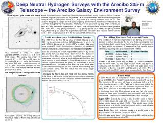 Robert Minchin NAIC Arecibo Observatory. rminchin@naic