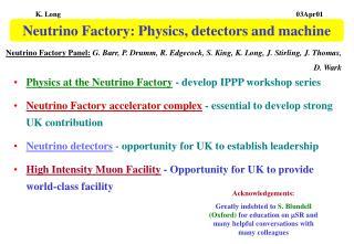 Neutrino Factory: Physics, detectors and machine