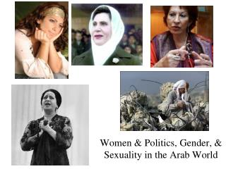 Women & Politics, Gender, & Sexuality in the Arab World