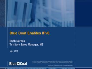 Blue Coat Enables IPv6
