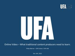 Online Video – What traditional content producers need to learn.
