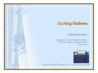 Exciting Hadrons