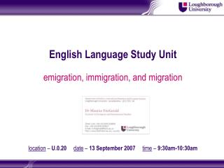 emigration, immigration, and migration