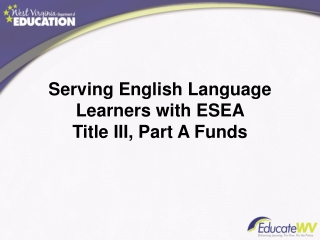 Title III-LEP Updates 2010-2011