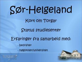 Sør-Helgeland