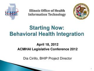 Starting Now: Behavioral Health Integratio n