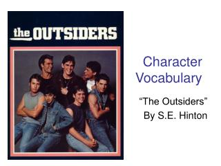 Character  Vocabulary