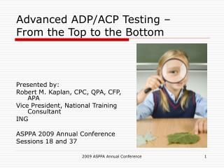 Advanced ADP