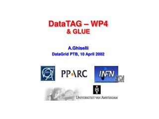 DataTAG � WP4 & GLUE