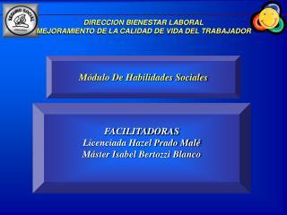 DIRECCION BIENESTAR LABORAL MEJORAMIENTO DE LA CALIDAD DE VIDA DEL TRABAJADOR