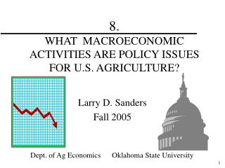 8.   WHAT  MACROECONOMIC ACTIVITIES ARE POLICY ISSUES FOR U.S. AGRICULTURE?