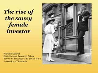 The rise of the savvy female investor