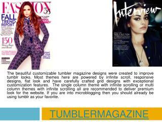 Tumbler Magazine
