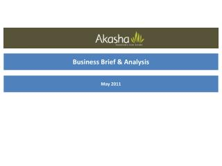 Business Brief & Analysis