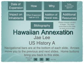 Hawaiian Annexation