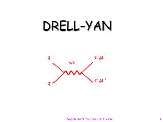 DRELL-YAN