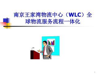 南京王家湾物流中心( WLC )全球物流服务流程一体化