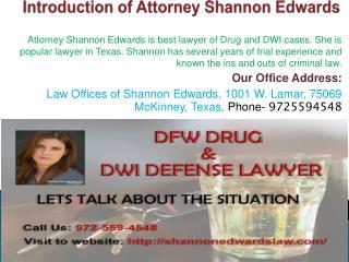 Drug Consultation Lawyer