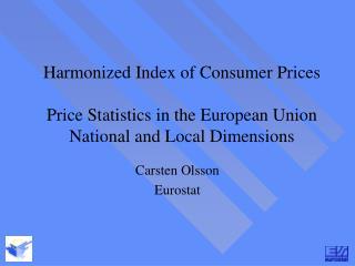Carsten Olsson Eurostat