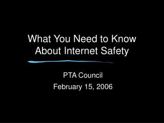 What You Need to Know About Internet Safety